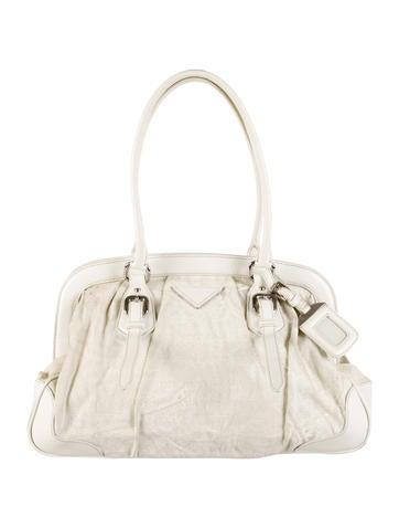 prada graphite bag - Prada Shoulder Bags Luxury Fashion | The RealReal