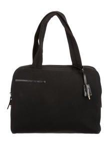 prada cable knit handle bag