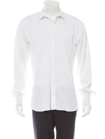Prada Long Sleeve Button-Up Shirt
