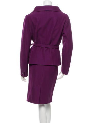 Belted Skirt Suit 31
