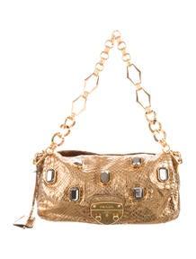 wallet on a chain prada - Prada Python Pietre Shoulder Bag - Handbags - PRA73621 | The RealReal