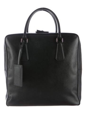 black prada handbags - Prada Mens Bags Luxury Fashion | The RealReal