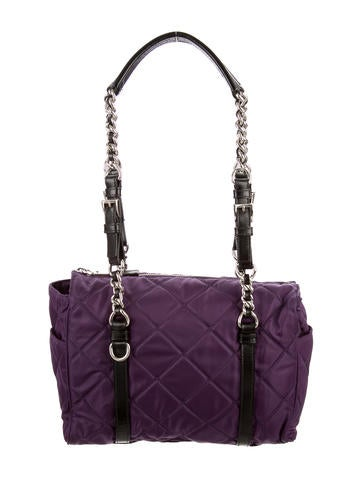prada saffiano vernice top handle bag - Prada Totes Luxury Fashion | The RealReal