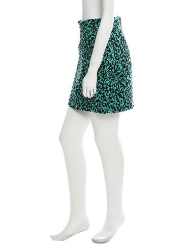 Proenza Schouler Knit Pattern Pencil Skirt - Clothing - PRO25194 The RealReal