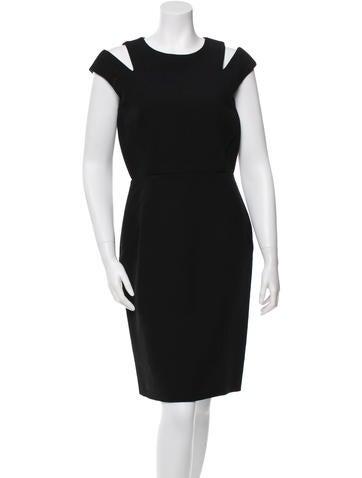 Proenza Schouler Wool Cutout Dress w/ Tags None