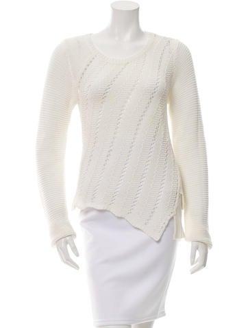 Proenza Schouler Open Knit Sweater None