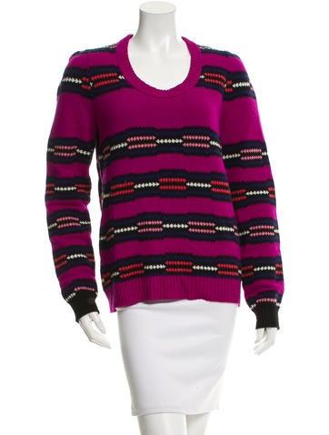 Proenza Schouler Striped Wool Sweater None
