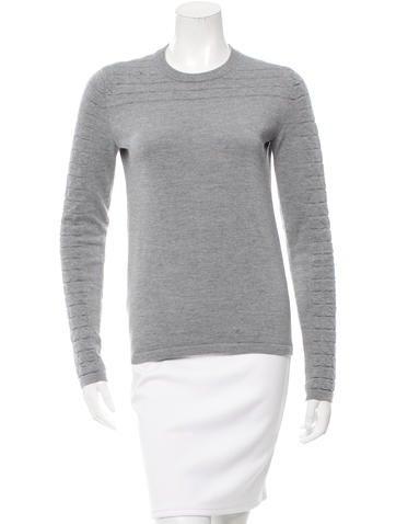 Proenza Schouler Crew Neck Wool Sweater None