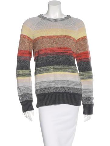 Proenza Schouler Striped Crew Neck Sweater None