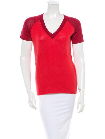 Reed Krakoff Knit Top None