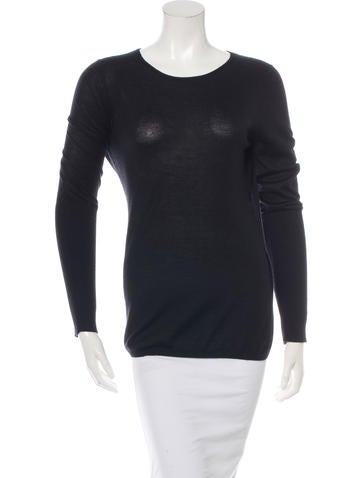 Reed Krakoff Cashmere-Blend Long Sleeve Top None