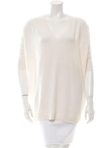 Reed Krakoff V-Neck Cashmere Sweater None