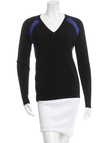 Reed Krakoff V-Neck Knit Top None