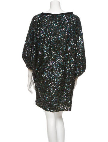 Reem Acra Embellished Dress