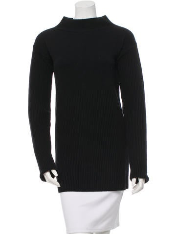 Rick Owens Wool Knit Sweater None