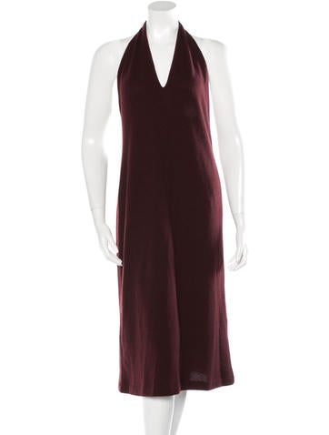 Ralph Lauren Purple Label Knit Halter Dress None