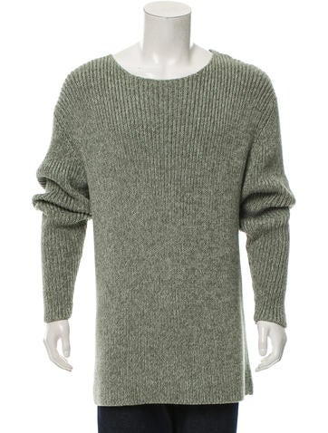 Rochambeau Pullover Rib Knit Sweater None