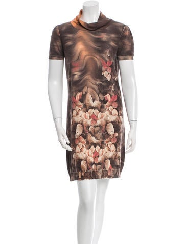 Roberto Cavalli Cashmere & Wool-Blend Sweater Dress None