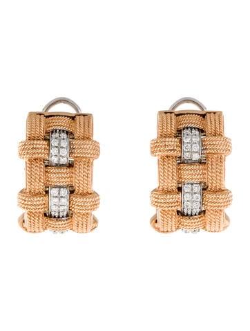 Roberto Coin Magnifica Diamond Earrings