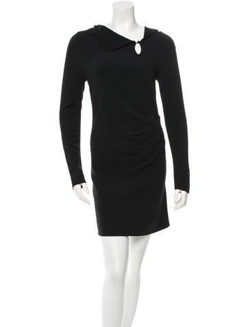 Roland Mouret Long Sleeve Sheath Dress