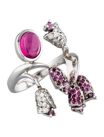tulip wrap ring jewelry rring20287 the realreal
