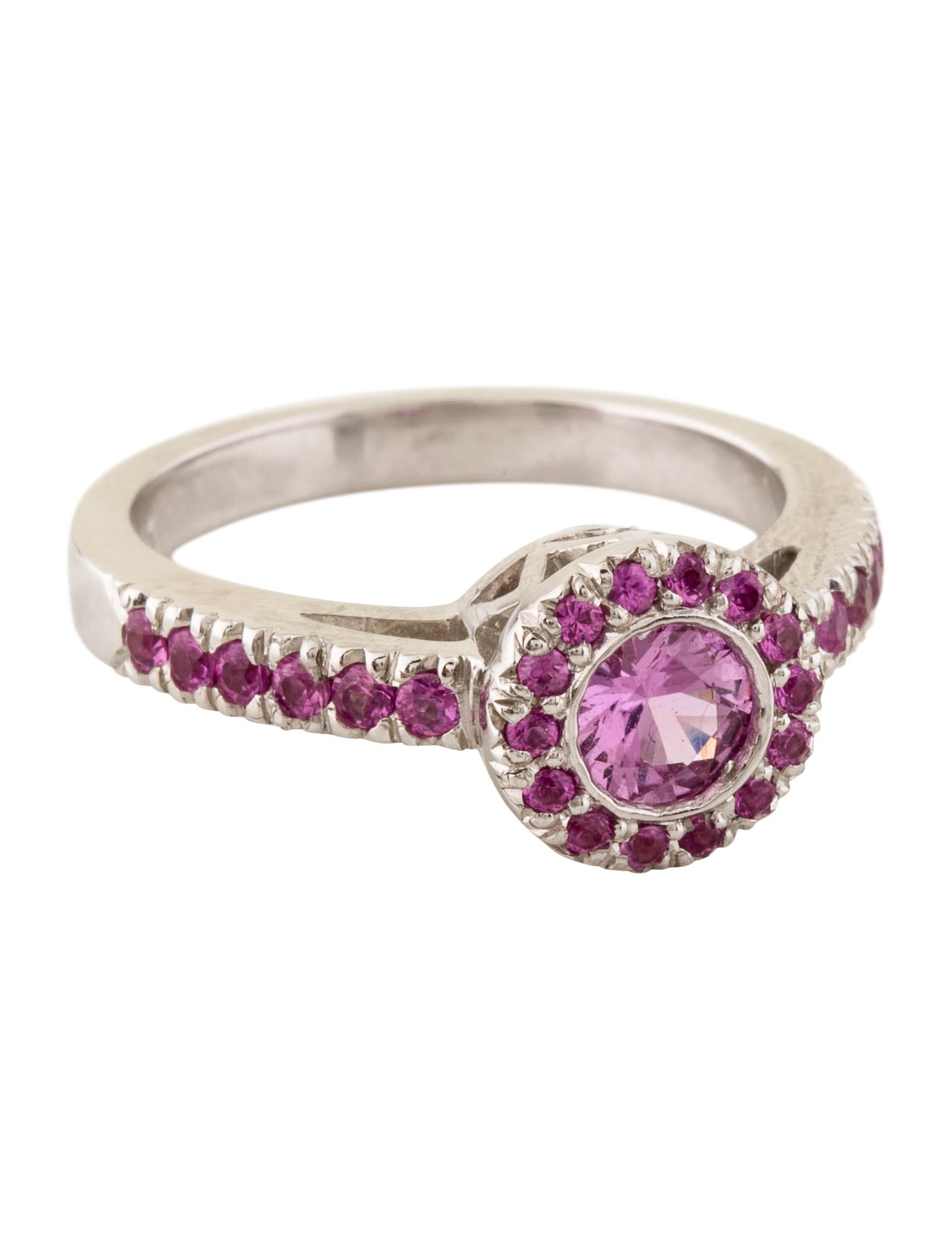 18K Pink Sapphire Ring - Rings - RRING23822 | The RealReal
