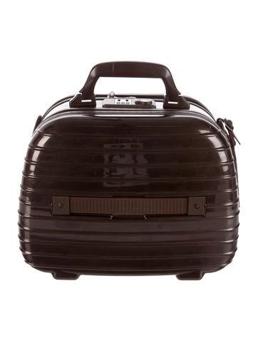 rimowa luggage salsa deluxe beauty case handbags rwlug20001 the realreal. Black Bedroom Furniture Sets. Home Design Ideas