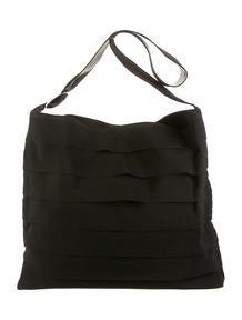 Prada Mink-Trimmed Shoulder Bag - Handbags - PRA75506 | The RealReal