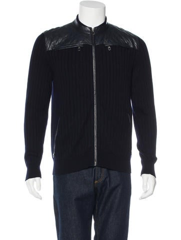 Salvatore Ferragamo Gancio Rib Knit Sweater None