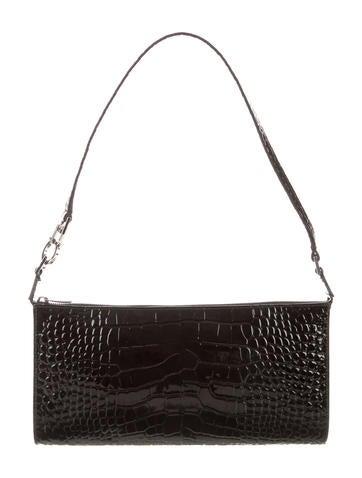 Salvatore Ferragamo Embossed Leather Bag None
