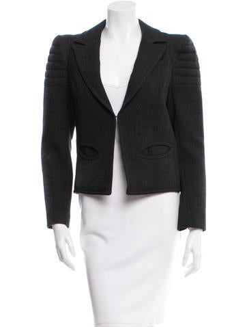 Smythe Structured Wool Blazer w/ Tags None