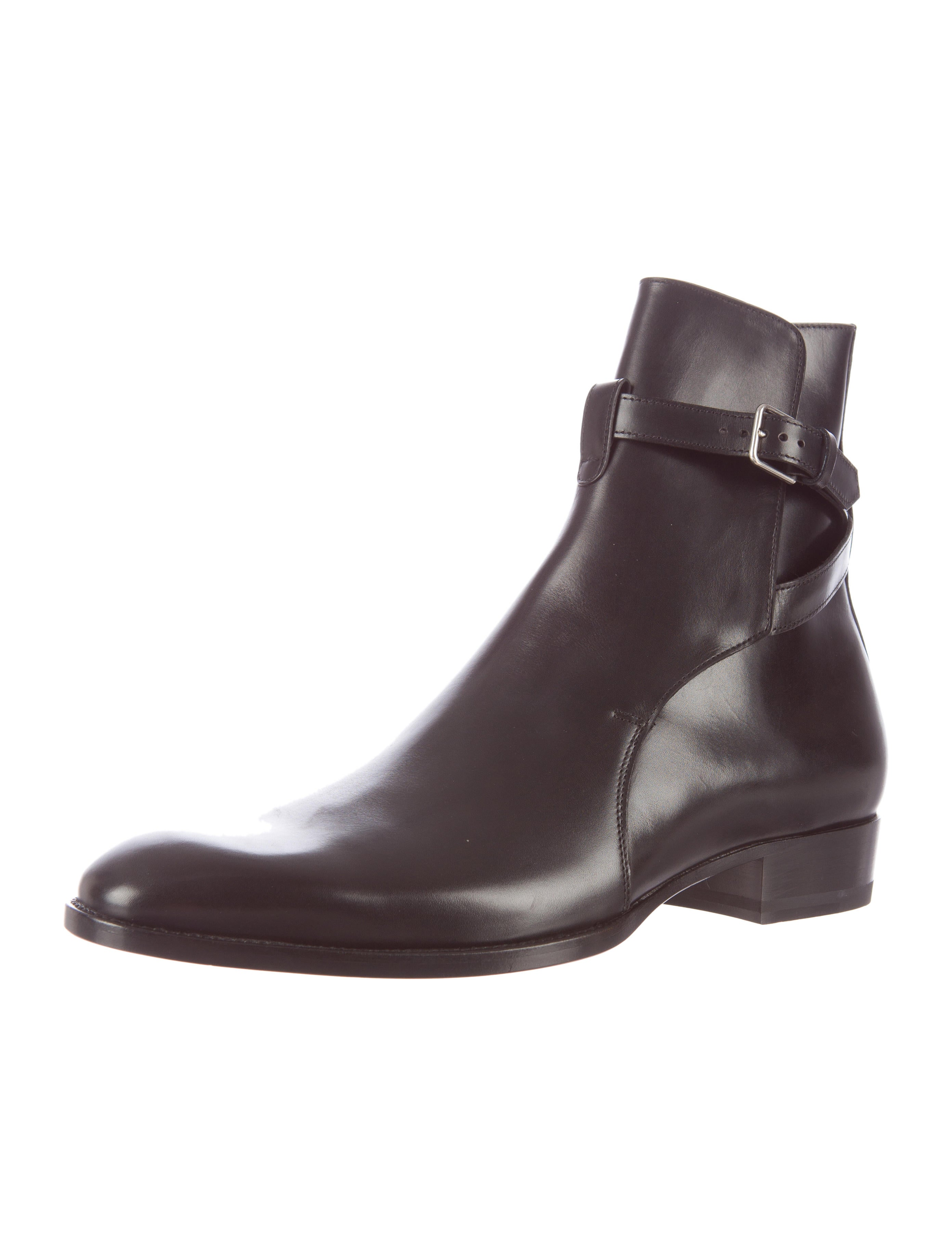 laurent jodhpur boots shoes snt22549 the realreal
