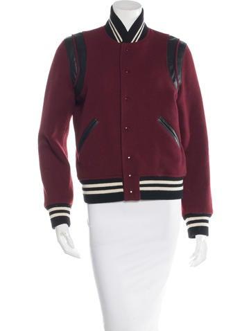 Saint Laurent Virgin Wool Teddy Jacket None