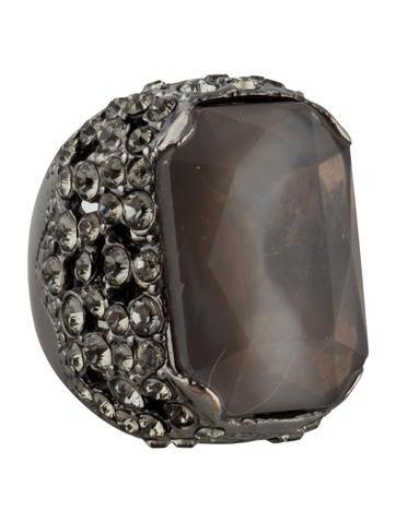 Sonia Rykiel Crystal Cocktail Ring