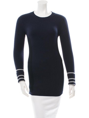 Sonia Rykiel Long Sleeve Rib Knit Top w/ Tags None