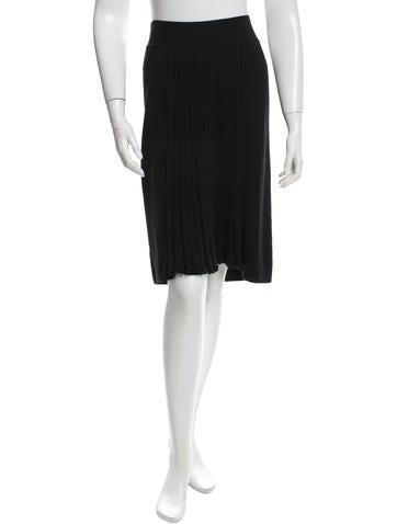 Sonia Rykiel Knit Knee-Length Skirt w/ Tags None
