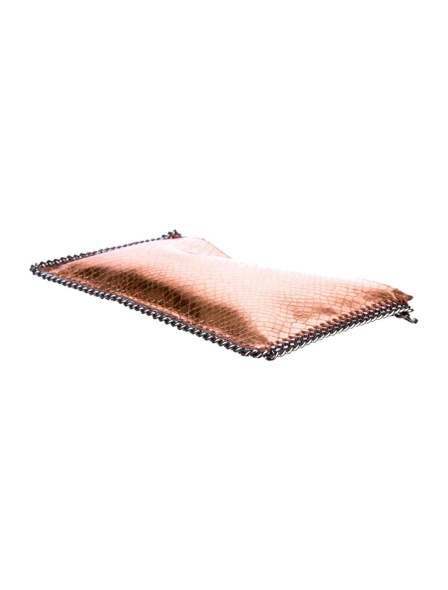 stella mccartney falabella pochette handbags stl26022 the realreal. Black Bedroom Furniture Sets. Home Design Ideas
