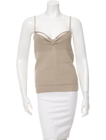 Stella McCartney Knit Sleeveless Top None