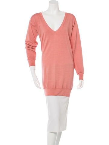 Stella McCartney Wool Knit Tunic None