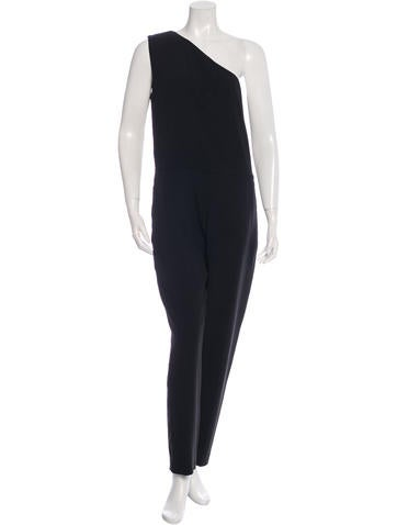 Stella McCartney One-Shoulder Skinny Leg Jumpsuit w/ Tags None