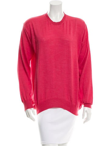 Stella McCartney Wool &  Silk-Blend Sweater None