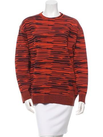 Stella McCartney Patterned Crew Neck Sweater None