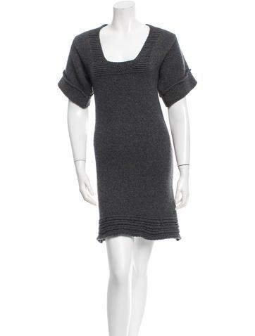 Stella McCartney Wool Sweater Dress None