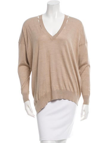 Stella McCartney V-Neck Knit Top None