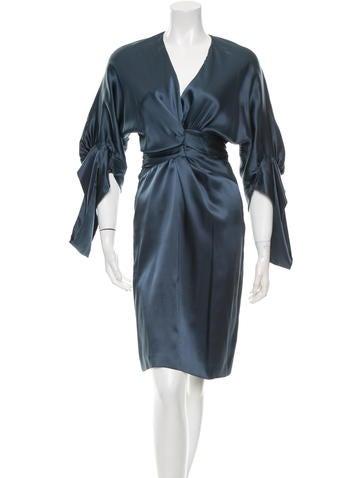 Stella McCartney Silk Knee-Length Dress w/ Tags None