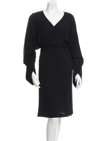 Stella McCartney Draped Midi Dress None