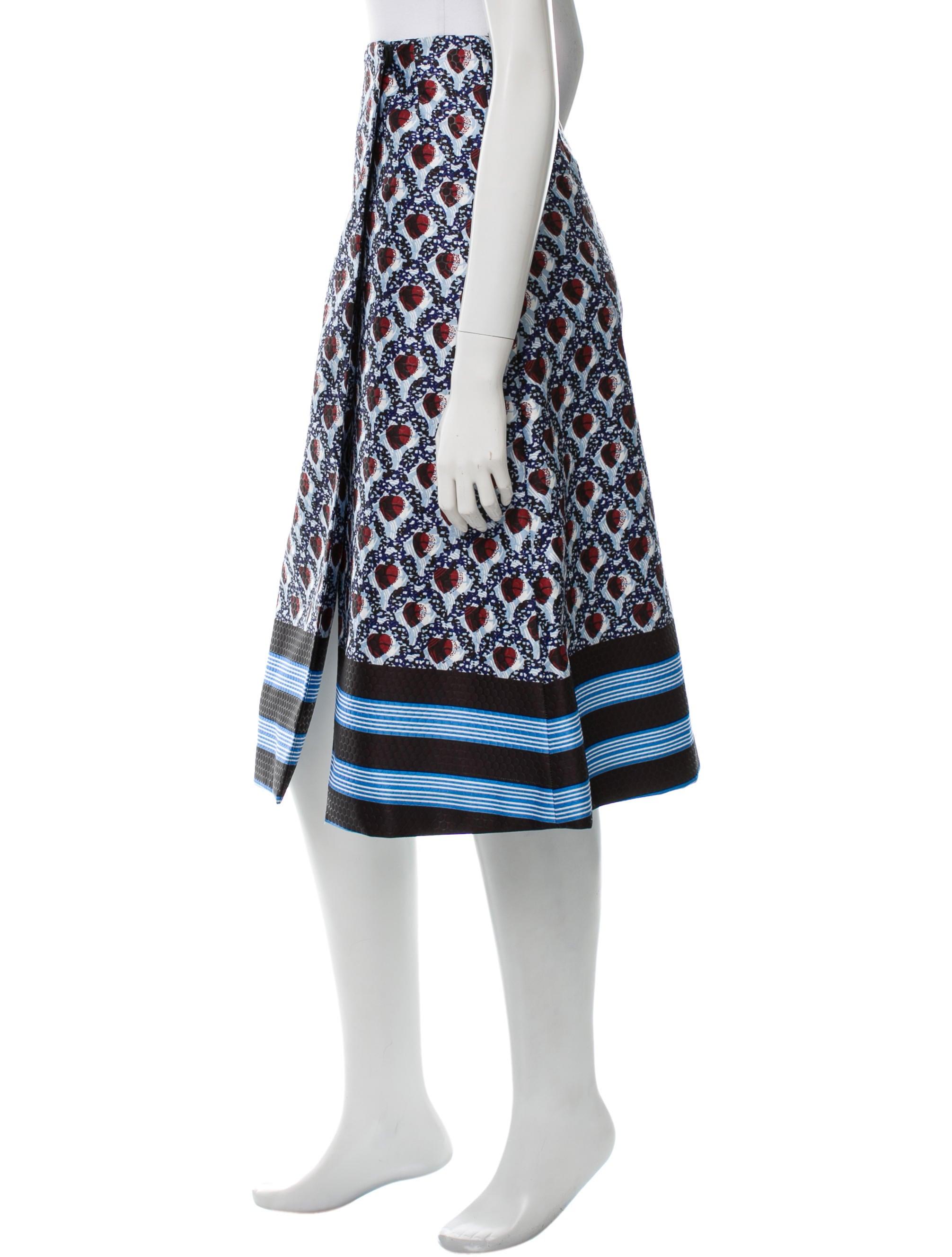 suno printed midi skirt skirts sun21507 the realreal