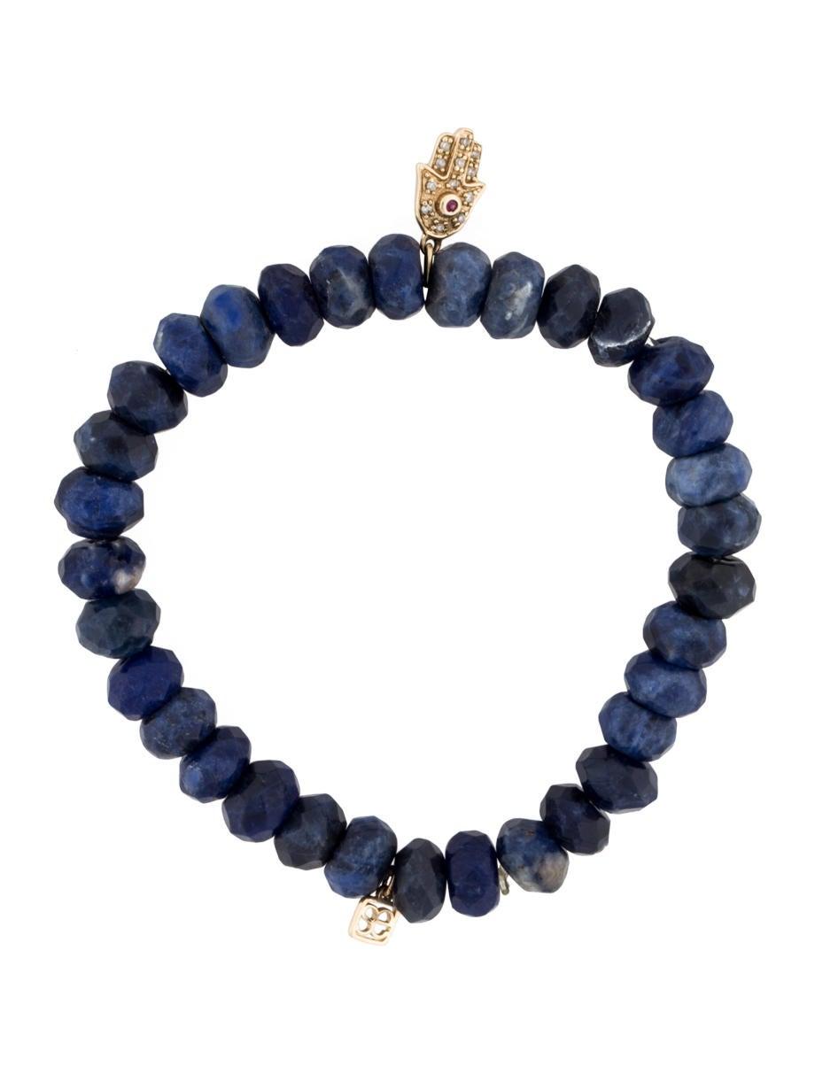 sydney evan lapis lazuli hamza hand bracelet bracelets sye20149 the realreal. Black Bedroom Furniture Sets. Home Design Ideas