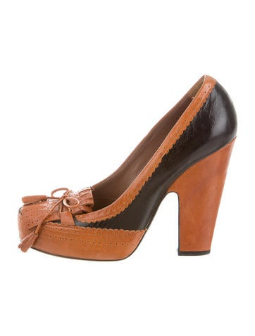 Tabitha Simmons Kiltie-Accented Pumps None