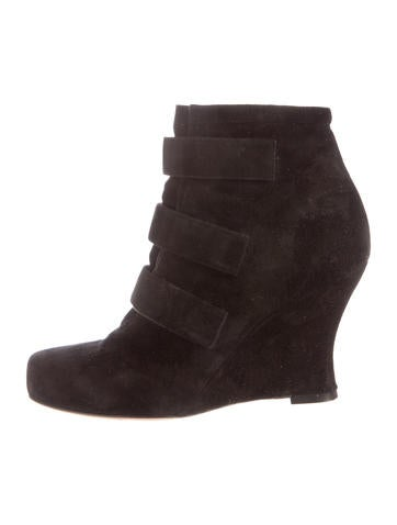 Tabitha Simmons Amber Wedge Ankle Boots None